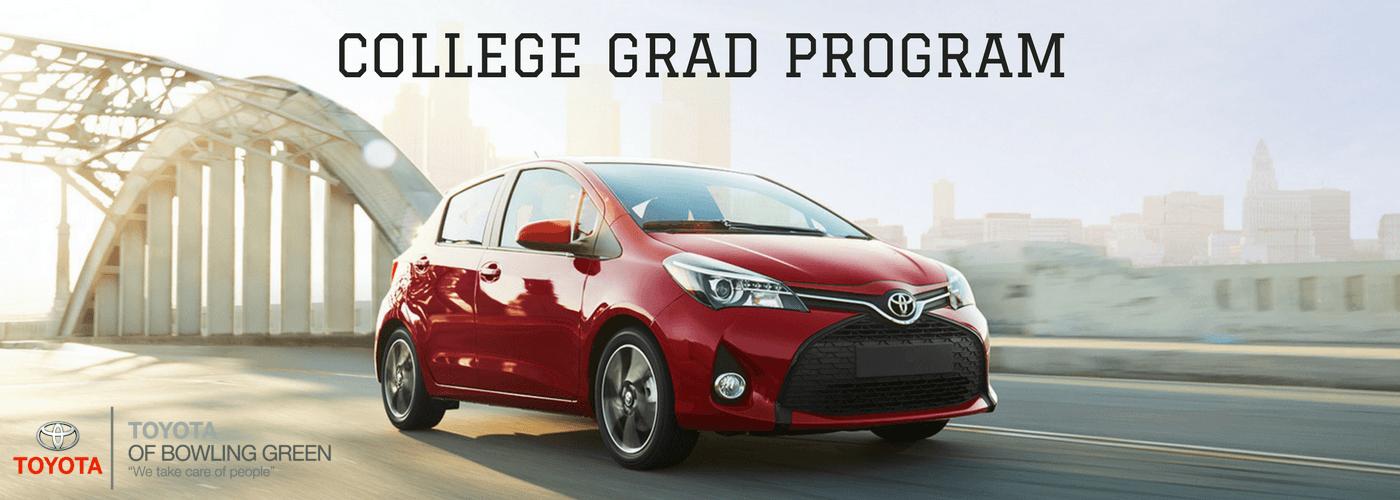 Toyota Of Bowling Green >> Toyota College Grad Program Bowling Green Ky